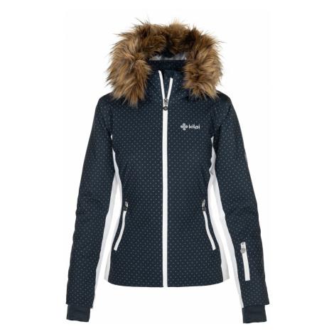 KILPI Dámská lyžařská bunda MALENAY-W NL0027KIDBL Tmavě modrá