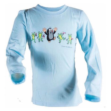 tričko chlapecké KRTEK FROG BLUE, Pidilidi, 2013, světle modrá