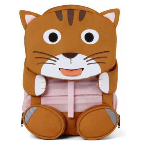 Dětský batoh Affenzahn Friend Cat Large Barva: hnědá