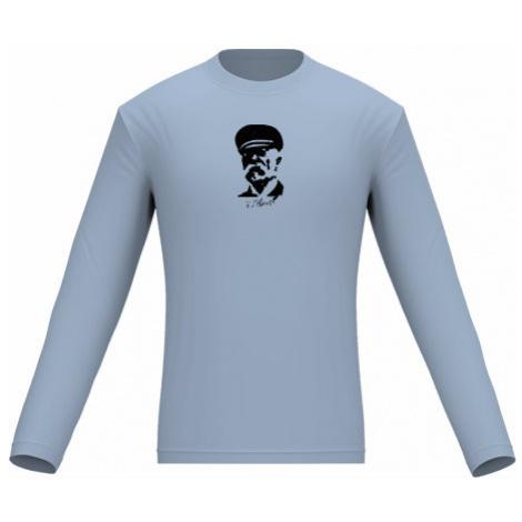 Pánské tričko dlouhý rukáv Masaryk