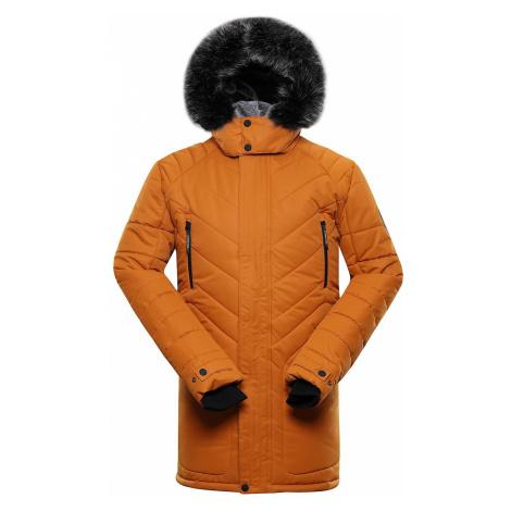Pánská zimní bunda Alpine Pro ICYB 6 - hořčicová