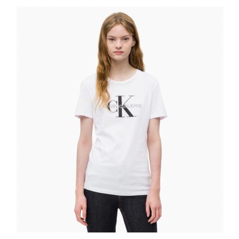 Calvin Klein dámské bílé tričko Core