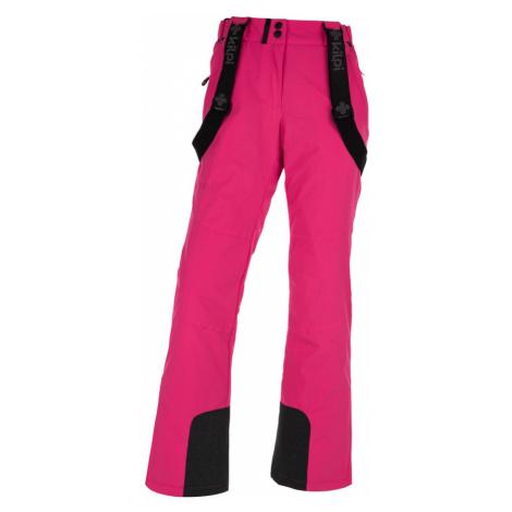 KILPI Dámské lyžařské kalhoty ELARE-W HL0011KIPNK Růžová