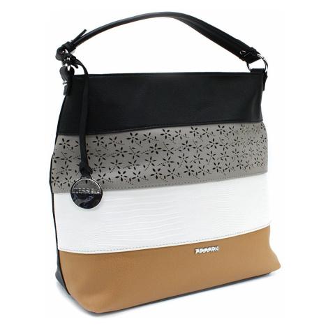 Černá barevná dámská kabelka na rameno Fayanna Tapple
