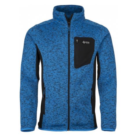 KILPI Pánský fleece svetr RIGAN-M JM0088KIBLU Modrá
