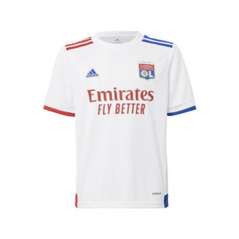 Adidas Domácí dres Olympique Lyonnais 20/21 Bílá