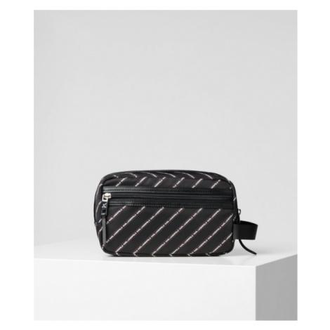 Kosmetická Taška Karl Lagerfeld K/Stripe Logo Nylon Washbag