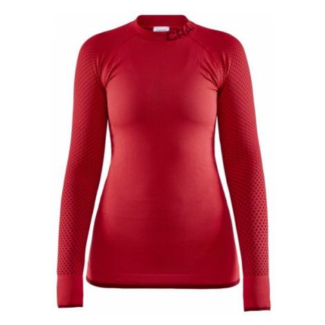 Dámské tričko CRAFT Warm Intensity červená