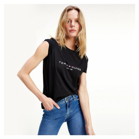Tommy Hilfiger dámské černé triko