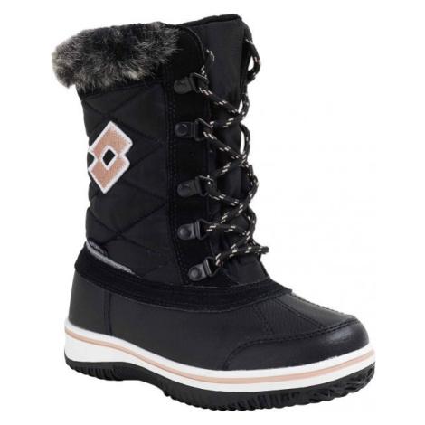 Lotto CHIANTI černá - Dívčí zimní obuv