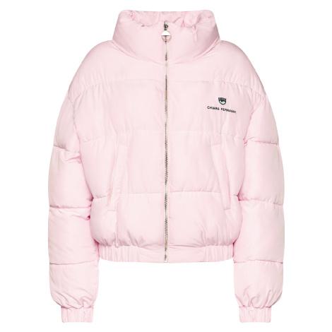 Růžová zimní bunda - CHIARA FERRAGNI
