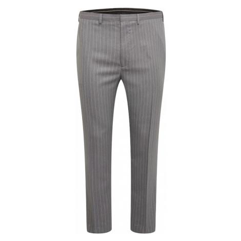 BURTON MENSWEAR LONDON Chino kalhoty šedý melír / pastelově růžová