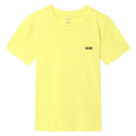 Vans WM JUNIOR V BOXY žlutá - Dámské tričko