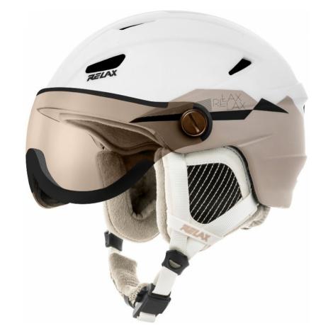 RELAX STEALTH Lyžařská helma RH24I bílá