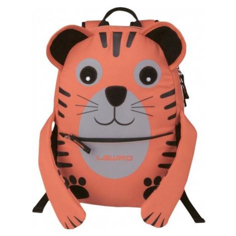 Lewro DIXIE 9 oranžová - Dětský batoh