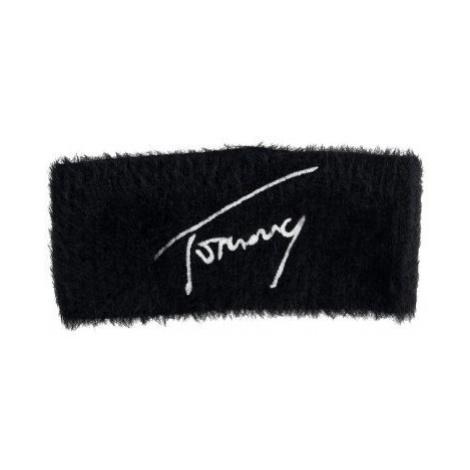 Tommy Hilfiger Tommy Jeans dámská černá čelenka