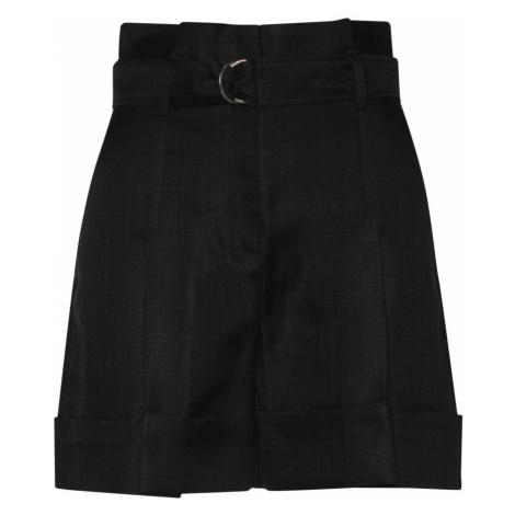 Šortky Karl Lagerfeld High-Waist Shorts - Černá