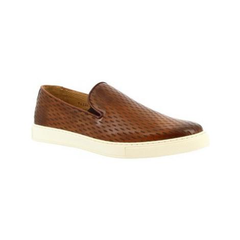 Leonardo Shoes 9620E20 SIERRA DELAVE SIENA Hnědá