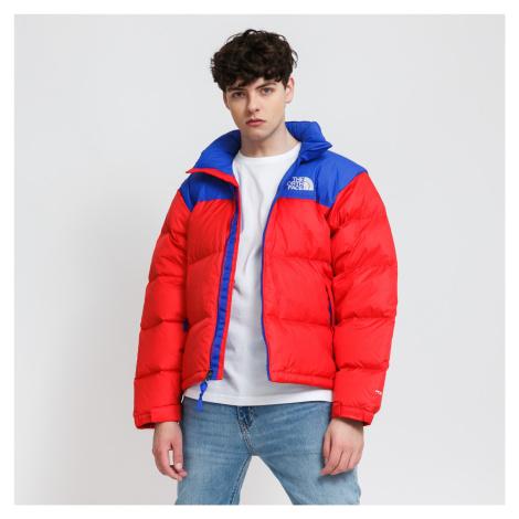 The North Face 1996 Retro Nuptse Jacket čevená / modrá
