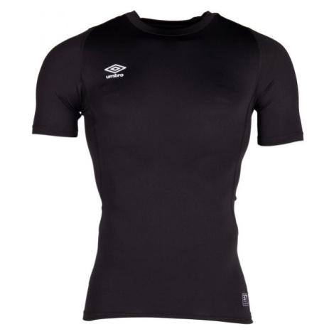 Umbro CORE SS CREW BASELAYER černá - Pánské sportovní triko
