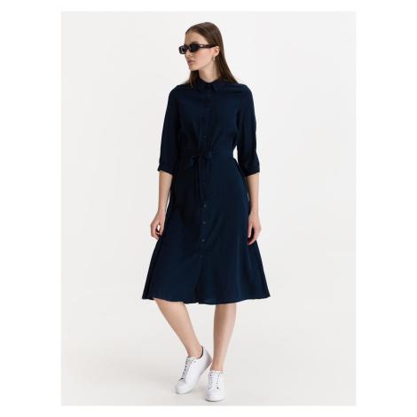 Cara Šaty Vero Moda Modrá