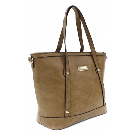 Světle hnědá dámská elegantní kabelka do ruky i přes rameno Eloisa Cyntia-Calamio (PL)