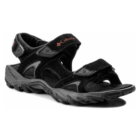 Sandály COLUMBIA - Santiam 3 Strap BM4625 Black/Mountain Red 010