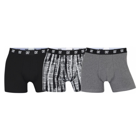 3PACK men's boxers CR7 multicolored Cristiano Ronaldo CR7