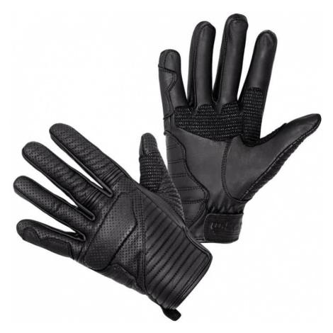 Kožené moto rukavice W-TEC Brillanta Barva černá