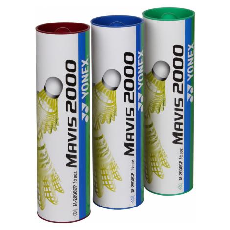 Badmintonové míčky YONEX Mavis 2000 - červené 6ks
