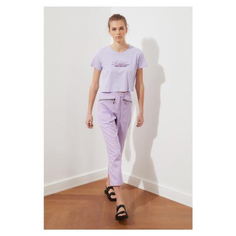 Trendyol Lilac Pocket Detail Pants