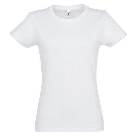 SOLS Dámské triko s krátkým rukávem IMPERIAL WOMEN 11502102 Bílá SOL'S