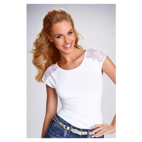 Dámské triko Eldar Tosca bílé | bílá