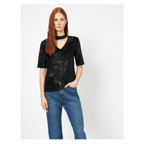 Koton Collar Detail T-shirt
