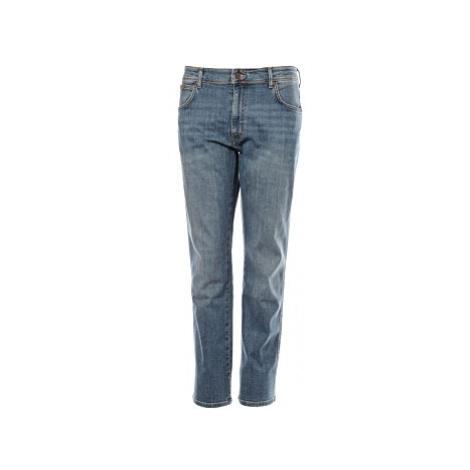 Wrangler jeans Texas Stretch pánské modré