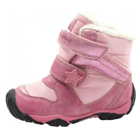 Junior League VERA růžová - Dětská zimní obuv