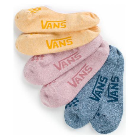 Ponožky Vans Classic Marled Canoodles 3P heather multicolour