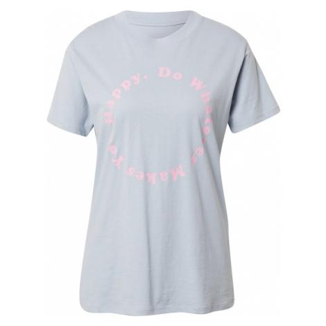 Cotton On Tričko světlemodrá / pink