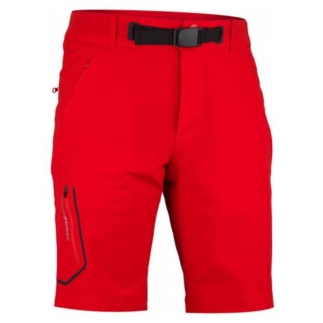 NORTHFINDER KRISHIN Pánské trekingové kraťasy BE-3320OR360 červená