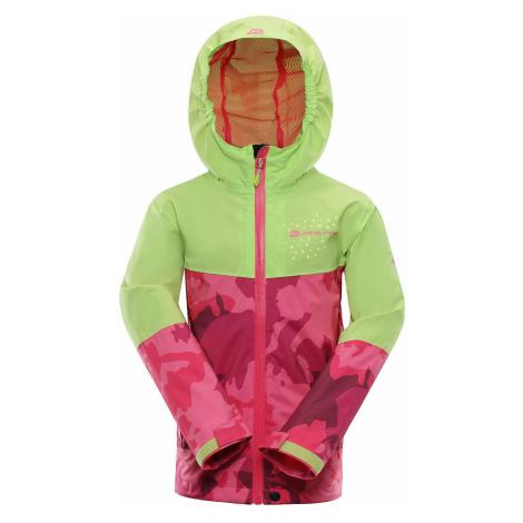 Dětská bunda Alpine Pro SLOCANO 3 - růžová