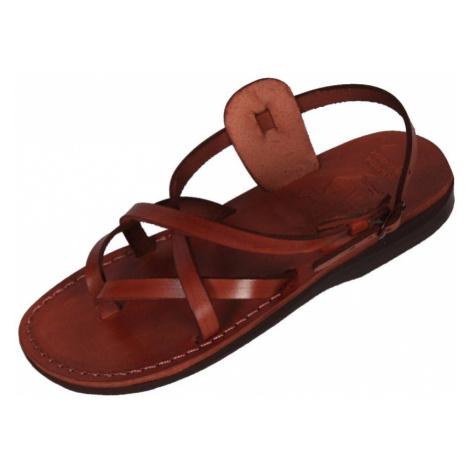 Faraon-Sandals PERIBSEN Uni kožené sandály 005 PERIBSEN