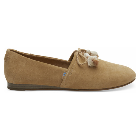 Honey Suede Women Kelli Flat Toms