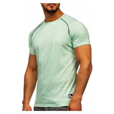 Mátové pánské tričko s potiskem Bolf SS11125