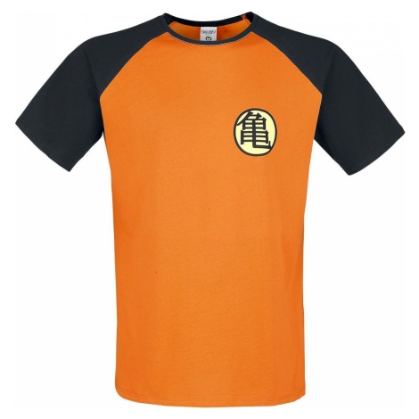 Dragon Ball Z - Kame Symbol tricko oranžová/cerná