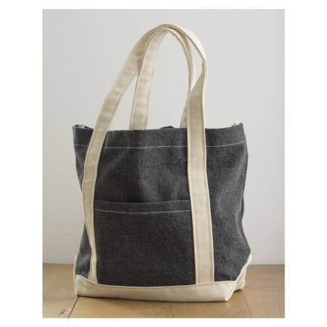 Taška canvas Denim Shopper