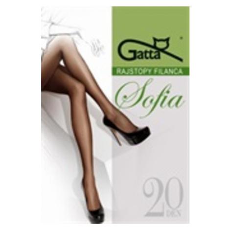Dámské punčochové kalhoty SOFIA 20- Elastil roz.6 hnědá Gatta