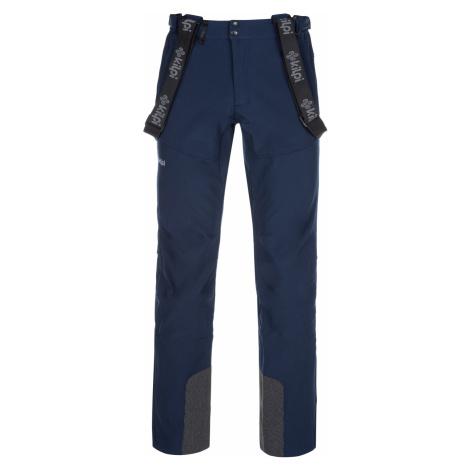 KILPI Pánské lyžařské kalhoty - větší velikosti RHEA-M LMX034KIDBL Tmavě modrá
