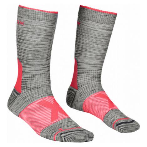 Dámské ponožky Ortovox Alpinist Mid Socks grey blend