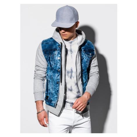 Ombre Clothing Trendy rifľová bunda c322