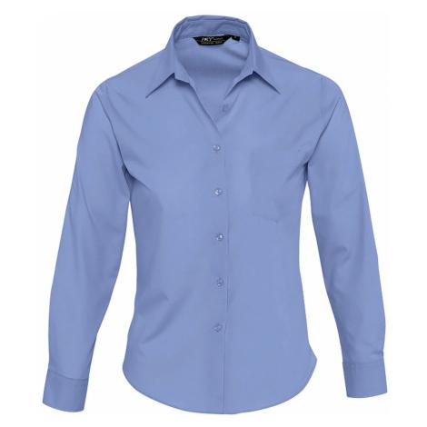 SOĽS Dámská košile EXECUTIVE 16060230 Mid blue SOL'S